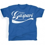 Gaspari Nutrition T-shirt Enjoy Gaspari Blue