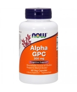 Now Foods Alpha GPC 300 mg 60 weg. kaps.