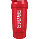 Scitec Traveller Shaker Red 500ml